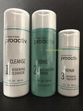 Proactiv 3pc 60 day Kit Proactive 3-Step System with Usage Guide Exp. 2018/2019!