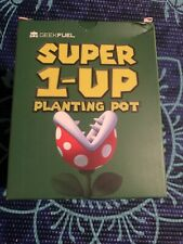 Exclusive GeekFuel Super 1-up Planting Pot Mario Smash Brothers