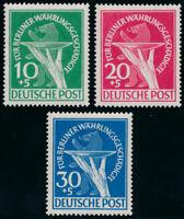 BERLIN 1949, MiNr. 68-70, sauber ungebraucht, Mi. 130,-