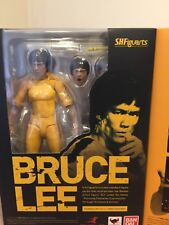 S.H.Figuarts Bruce Lee Yellow Track Suit Action Figure Toy Doll Bandai Xmas Gift