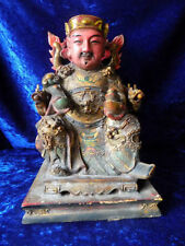 Wood/Woodenware Primary Post - 1940 Statue Chinese Antiques