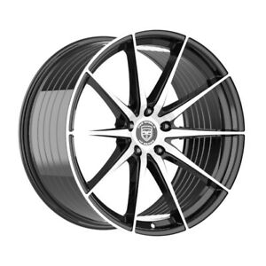 4 HP4 18 inch Black Rims fits FORD FREESTYLE 2005 - 2007