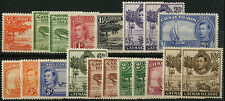 Mint Hinged Caymanian Multiple Stamps