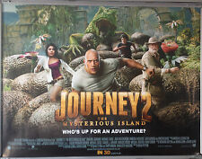 Cinema Poster: JOURNEY 2 THE MYSTERIOUS ISLAND 2012 (Quad) Michael Caine