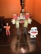 Hasbro Decepticons transformer action figure, Demolishor with Blackout mini con