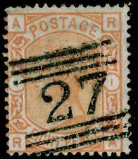 SG 156, 8d orange, FINE used. Cat £350. RA