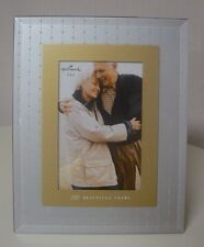 Hallmark 50 BEAUTIFUL YEARS Picture Frame 50th Anniversary NEW Holds 4x6 Photo