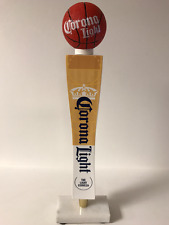 "Corona Light Basketball Cerveza Tap Handle ~  NEW in BOX ~ 14"" TALL ~ Rare Tap"