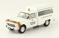 Peugeot 404 Cargo 1980 Patrulla Patrol Rare Argentina Diecast Scale 1:43+Magzine