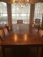 FIne Baker Furniture Dining Room Set