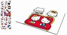 Hello Kitty Mousepad and Kitty Family with Hello Kitty 3-D Stickers Set, HK:MP-7