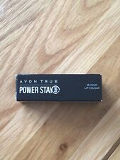 Avon True Power Stay 16hr Lip Colour Relentless Rose matte colour New in Box
