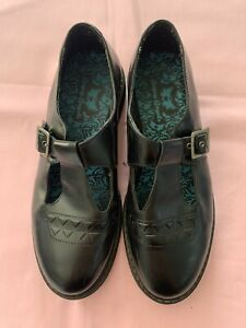 Startrite 'Angry Angels' black leather school shoes size 7 worn once