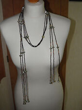 Neckless-Multi Strand beaded-Wrap a Round