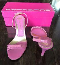 New Fornarina Barbie Pink Heeled Sandal - 8US/39Euro