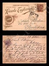 Livorno - Rappresentanze Nicola Taglierani - 28.10.1896