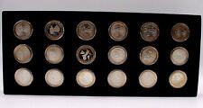 2009 P/D/S U.S. Territory Washington Quarters Complete 18 Coin Set.cardboard box
