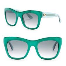 GUCCI Square Acetate Sunglasses in Pearl Green GG 3827/S