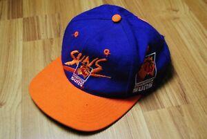 VINTAGE 90'S PHOENIX SUNS HAT CAP SNAP BACK NBA BASKETBALL MADE IN TAIWAN RARE