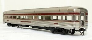 Sunset Models Streamlined Observation - Pennsylvania - O Scale, 2-rail.  Brass.
