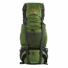 MPG Alpine 3600 60L Internal Frame Hiking Backpack Scout Backpack Army Green