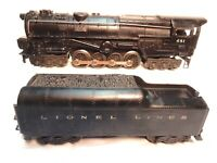 Vintage Lionel #681 Lionel Lines Steam Turbine Loco with 2046W Whistle Tender!--