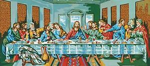 Grafitec Printed Tapestry/Needlepoint Canvas – The Last Supper