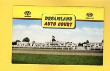 "Appleton,WI Wisconsin Dreamland Auto Court ""finest in the valley"""