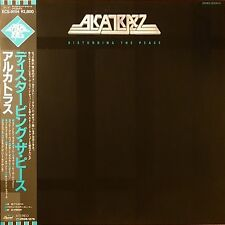 "ALCATRAZZ ""Disturbing The Peace"" with OBI White Label Promo1984 JAPAN"