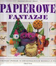 S2 Papierowe Fantazje Owen Origami In Polacco Art Books ed. 1993