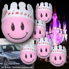 6-PACK PINK PRINCESS FROGS antenna topper aerial balls