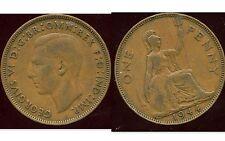 ROYAUME UNI  one penny 1944