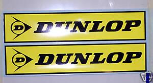 Dunlop Fork Decals Montesa, Gasgas, Sherco, Beta Trials bike stickers