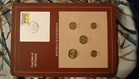 Coin Sets of All Nations Kazakhstan w/card 50, 20, 10, 5, 2 Tyin 1993 UNC