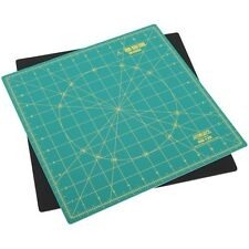 "OLFA Rotating Self-healing Rotary Mat, 12"" x 12"" Cutting Mat for Quilting RM-12S"