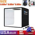 LED Photo Studio Light Box Portable Folding Photography Shooting Tent Kit