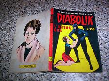 DIABOLIK ANNO V N.14 ORIGINALE 1966 MB/OTTIMO TIPO KRIMINAL SATANIK KILLING