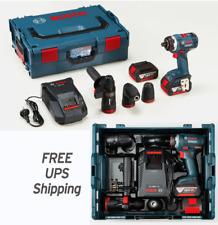 Bosch GSR18V-EC FC2 /5.0Ah x2ea Keyless Angle SDS Hammer Charger L-Boxx Free UPS