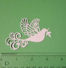 16 Ornate Dove - Cardstock Die Cuts - Card Toppers - Embellishments - Christmas