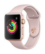 Apple Watch Series 3 38mm Gold Aluminium Case with Pink Sand Sport Band