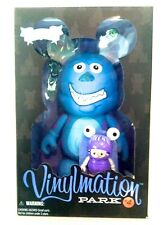 """DISNEY VINYLMATION 9"""" PARK 4 SULLY BOO PIXAR MONSTERS INC COLLECTIBLE TOY FIGURE"""