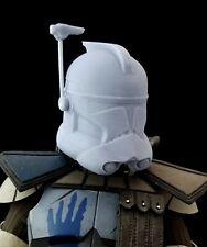 "Star Wars 1/6 Clone ARC Trooper Helmet Blank for Custom 12"" Figure Fives echo"