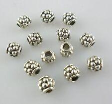 100pcs Tibetan Silver Tube Spacer Beads 4x4mm Jewelry Beading Making