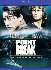 Point Break, Pure Adrenaline Edition [Blu-ray], Excellent DVD, Jared Chandler,Ma