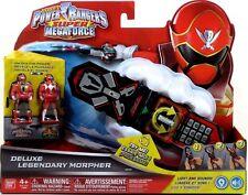 Bandai Power Rangers Super Megaforce DELUXE LEGENDARY MORPHER lights sounds New!
