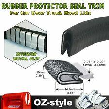 Waterproof Trim Seals Pinch Weld Car Sharp Metal Edge Protect Scratch Proof 5.5M