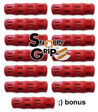 SNAPPY GRIP Egonomic Replacement Bucket Handles 12 RED + BONUS