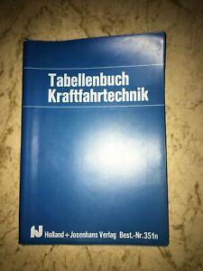tabellenbuch kraftfahrzeugtechnik, Bestnr. 351n