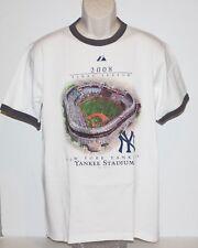 New York Yankees 2008 Final Season Yankees Stadium Majestic Men's Medium T Shirt
