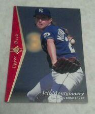 JEFF MONTGOMERY 1995 UPPER DECK SP